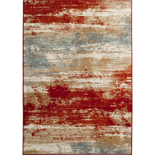 Damboise Livermore Ivory Area Rug by Ebern Designs