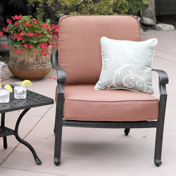 Berenice Club Chair with Cushion by Astoria Grand