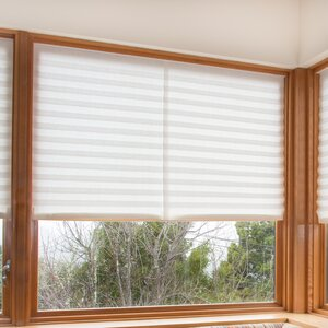 Paper Light Filtering Pleated Shade (Set of 4)
