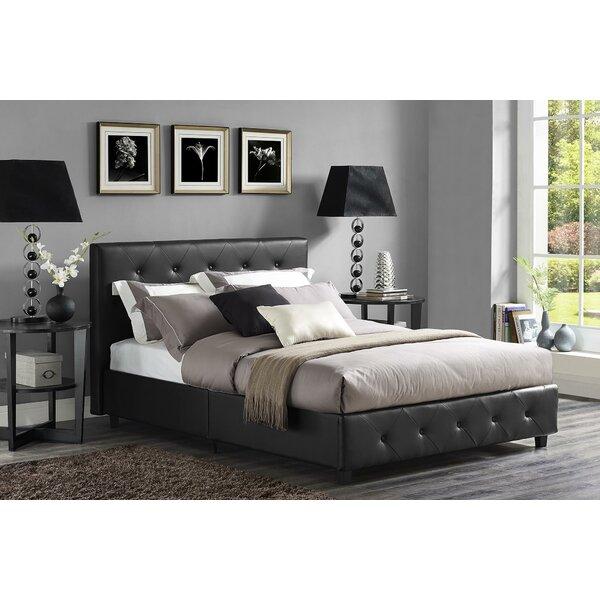 Salina Upholstered Platform Bed by Andover Mills