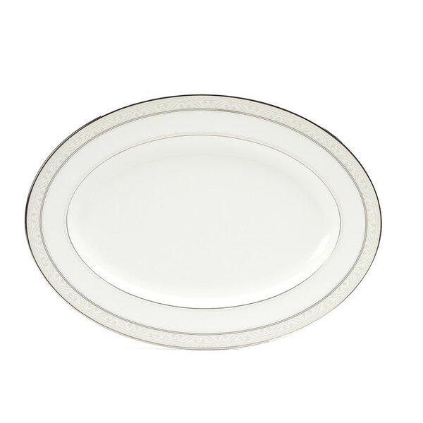 Montvale Platinum Platter by Noritake