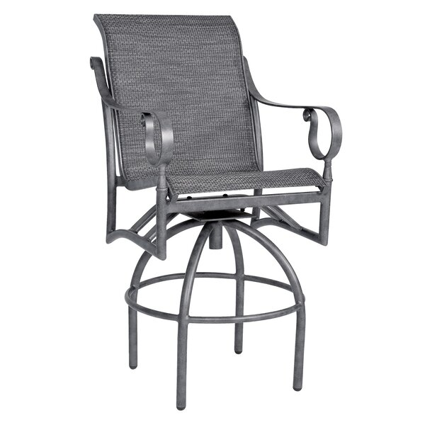 Ridgecrest 29 Swivel Patio Bar Stool by Woodard