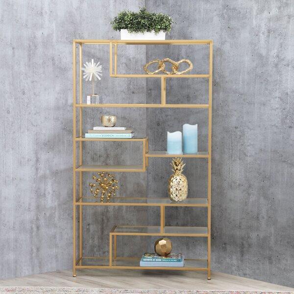Adamo Etagere Geometric Bookcase By Mercer41