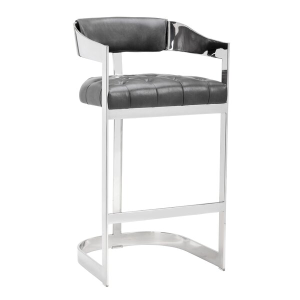 Club Bar Stool by Sunpan Modern
