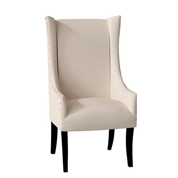 Lulu Upholstered Dining Arm Chair by Latitude Run Latitude Run