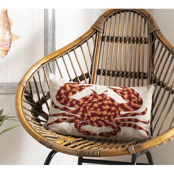 Joshi Cotton Throw Pillow by Breakwater Bay