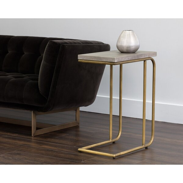 Pfister C-Shaped End Table by Orren Ellis
