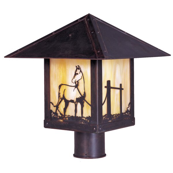 Timber Ridge Outdoor 1-Light Lantern Head by Arroyo Craftsman