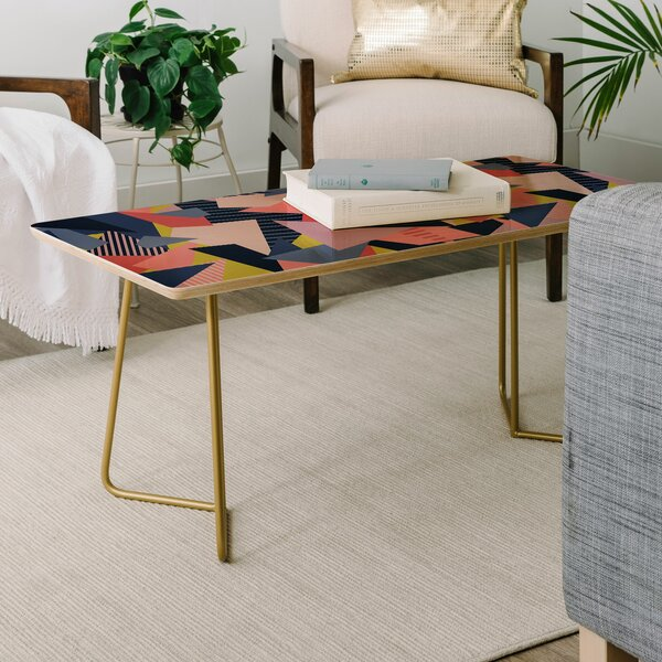 Mareike Boehmer Color Blocking Chaos Coffee Table by East Urban Home East Urban Home