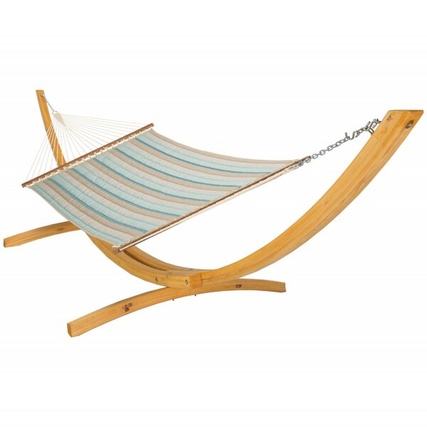 Lagrone Quilted Sunbrella Hammock by Latitude Run