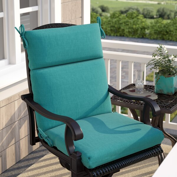 Indoor/Outdoor Adirondack Chair Cushion by Three Posts