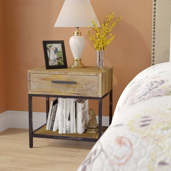 Carly 1 Drawer Night Stand By Williston Forge