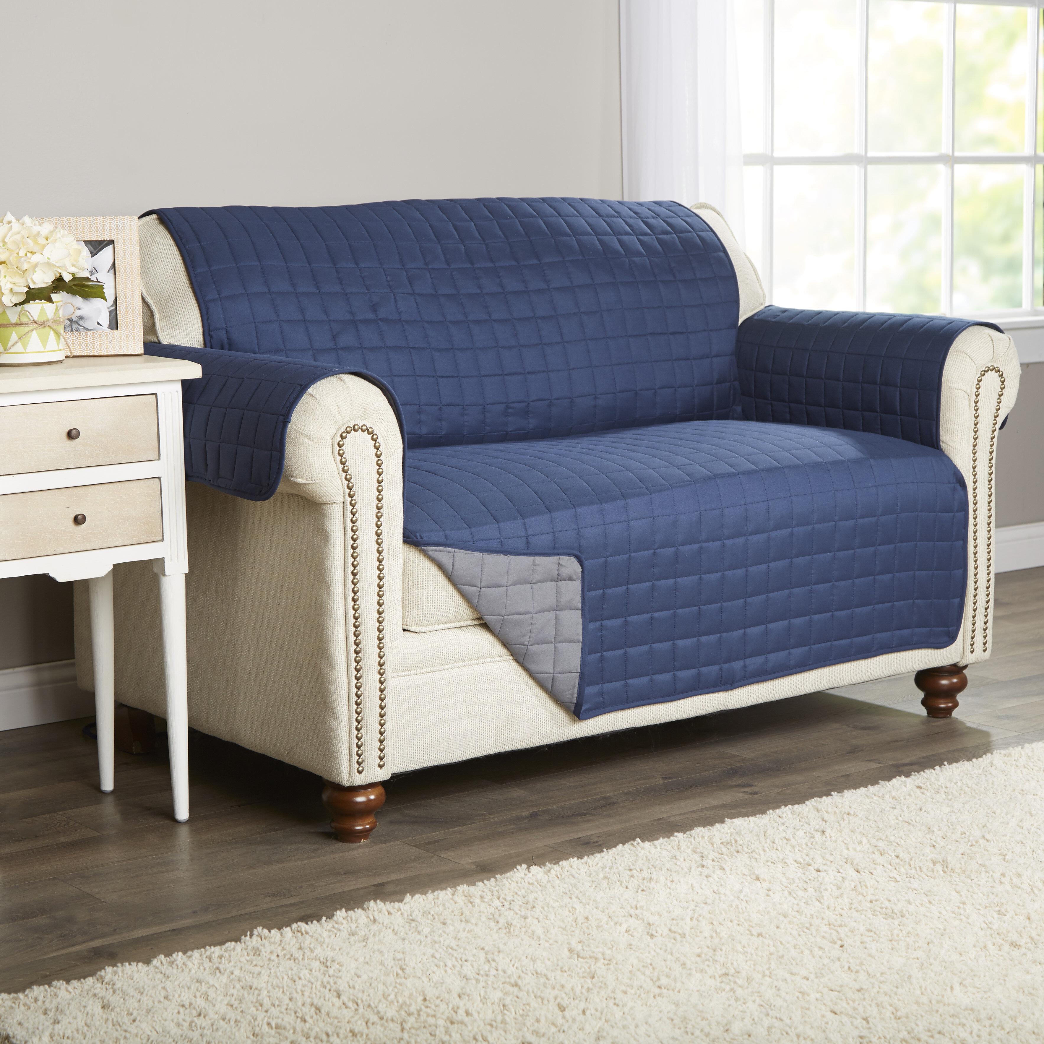 Stupendous Wayfair Basics Box Cushion Loveseat Slipcover Reviews Beatyapartments Chair Design Images Beatyapartmentscom
