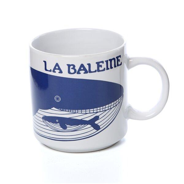 Idina 11 oz. Le Baleine (Whale) Mug by East Urban Home