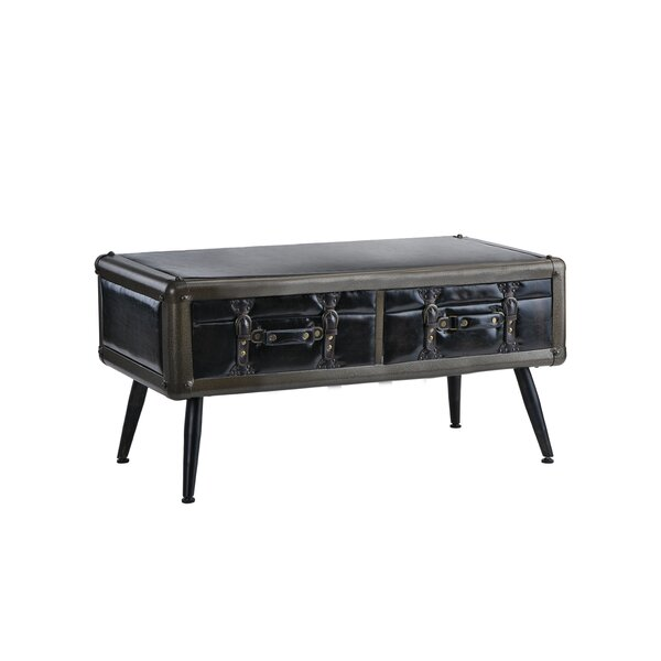 Marshall Entryway Coffee Table with Storage by Williston Forge