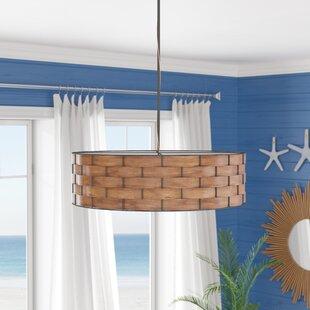 Lino 3-Light Drum Chandelier ByBeachcrest Home