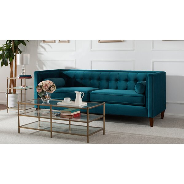 Willa Arlo Interiors Harcourt Tufted Chesterfield Sofa In