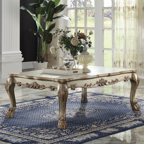Dresden Solid Wood Coffee Table by A&J Homes Studio A&J Homes Studio