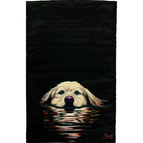 Retriever Full Face Hand Towel (Set of 2) by East Urban Home