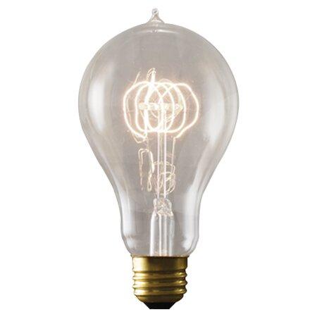 40W E26/Medium (Standard) Incandescent Light Bulb (Set of 3) by Bulbrite Industries