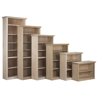 Face Frame Crown Bookcase by Arthur W. Brown