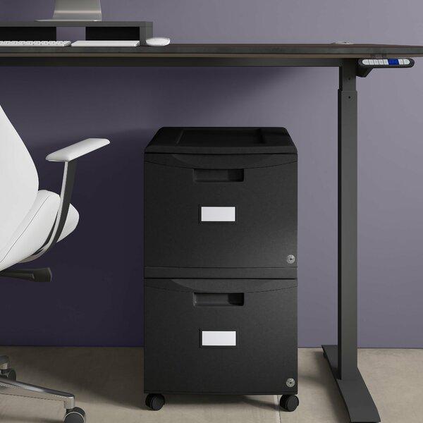 Zuniga 2-Drawer Mobile Vertical Filing Cabinet