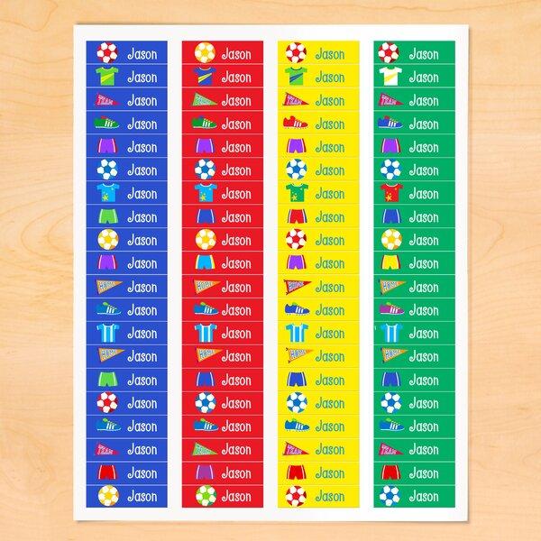 Keffer Soccer Personalized Wall Sticker by Zoomie Kids