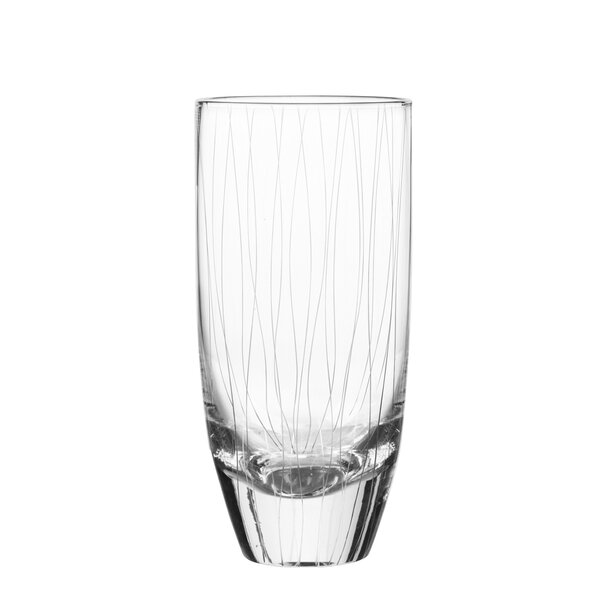 Breeze Highball Glass (Set of 4) by Qualia Glass