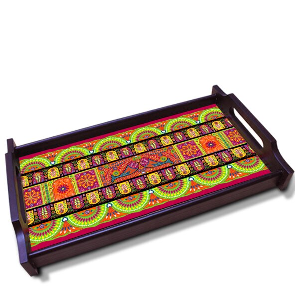 Truck Art Wooden Tray by Orchid Trendz