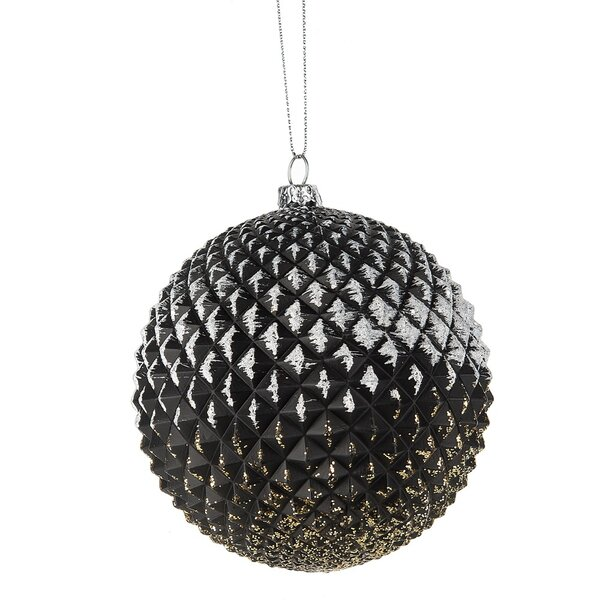 Winter Wonderful Faceted Ball Ornament by Mercer41