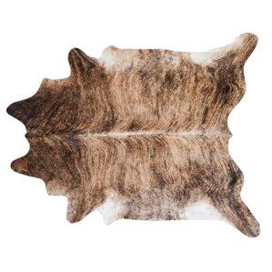 brindle cowhide area rug