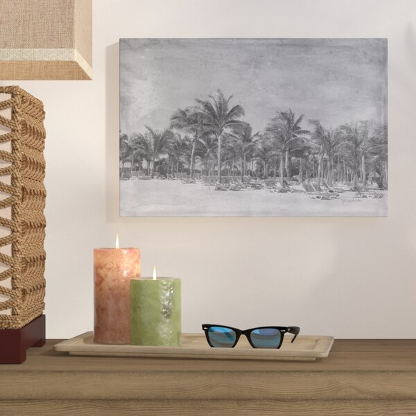 Paradise Photographic Print on Gallery Wrapped Canvas by Bay Isle Home