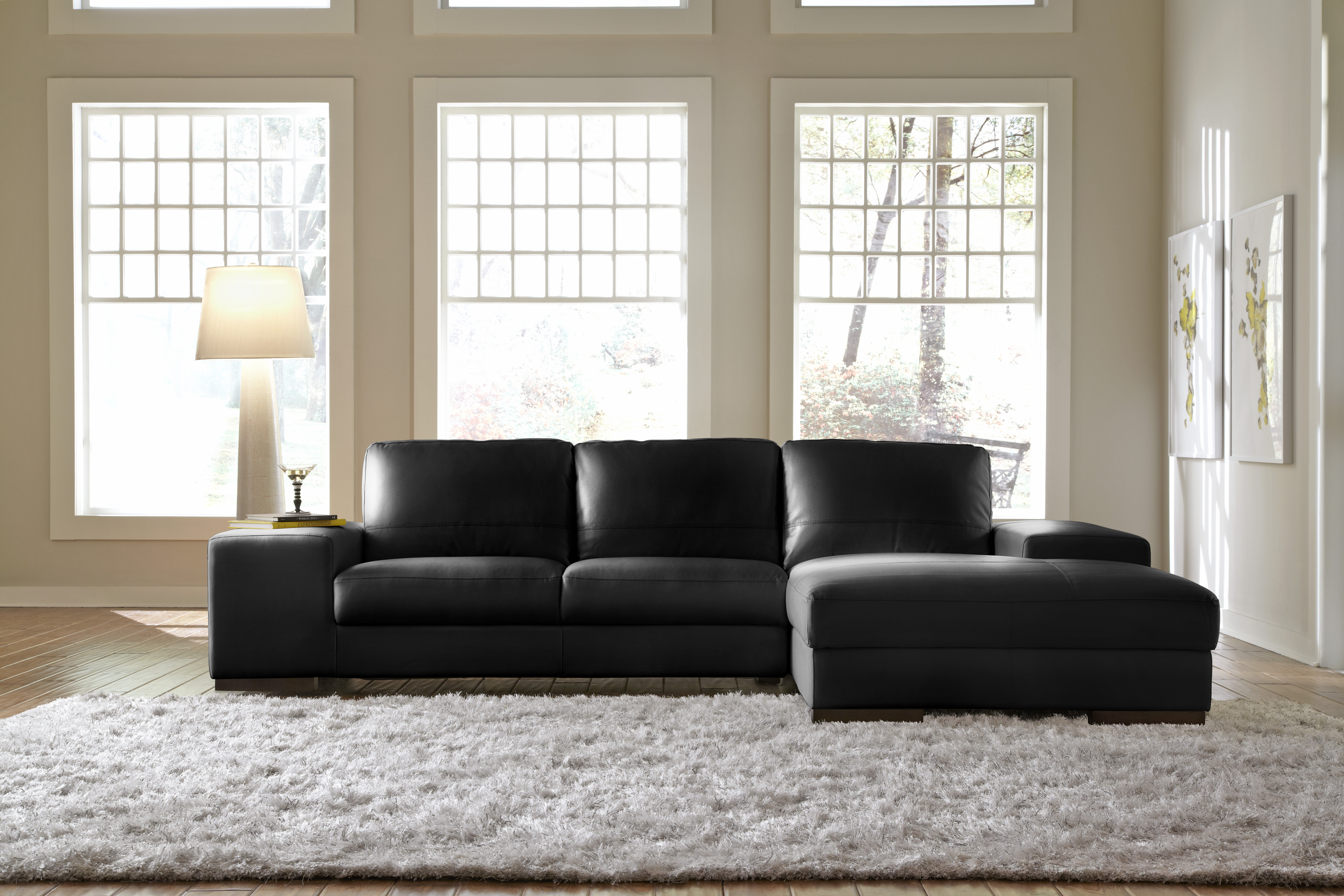 leather sectional match ashley by piece products design item signature francesco number