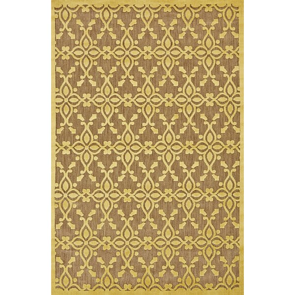 Collinson Tan/Yellow Indoor/Outdoor Area Rug by Charlton Home