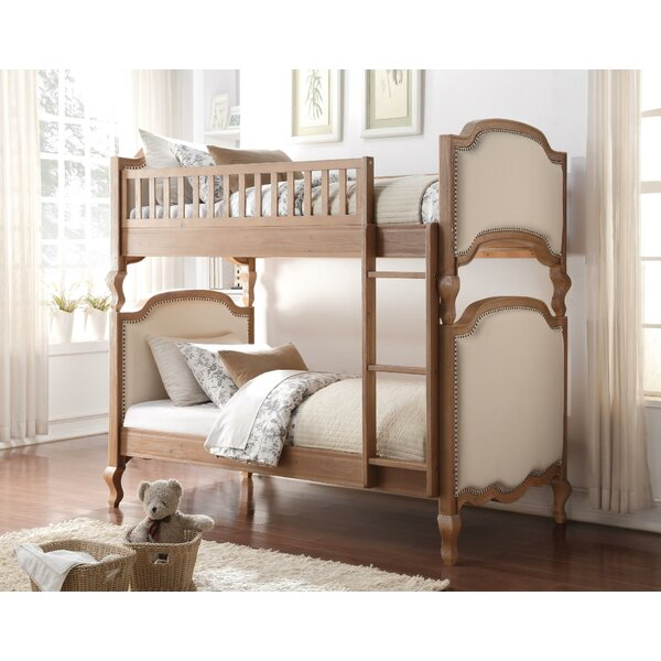 Elllise Twin over Twin Bunk Bed by Harriet Bee