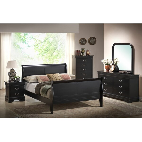 Priscilla Sleigh Configurable Bedroom Set by Alcott Hill