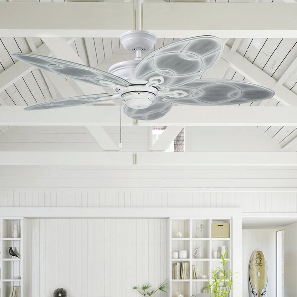 52 Denwood 5 Blade Outdoor Ceiling Fan by Bloomsbury Market
