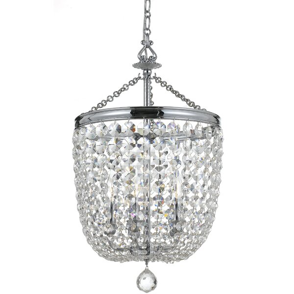 Sargent 5-Light Crystal Chandelier by House of Hampton