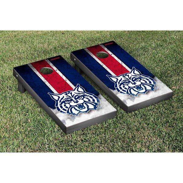 NCAA Grunge Version 2 Cornhole Game Set by Victory Tailgate