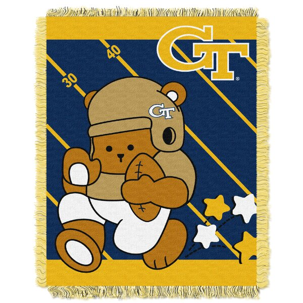 Collegiate Georgia Tech Baby Blanket by Northwest Co.