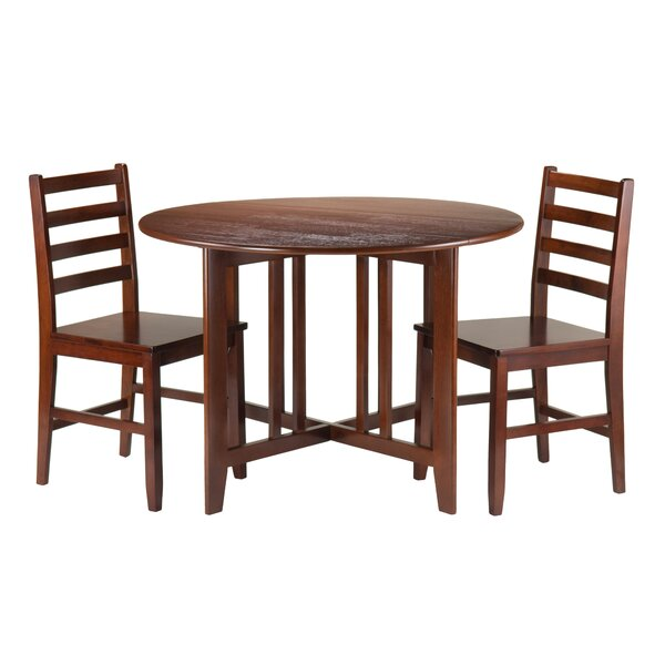 Columbia 3 Piece Drop Leaf Dining Set by Red Barrel Studio