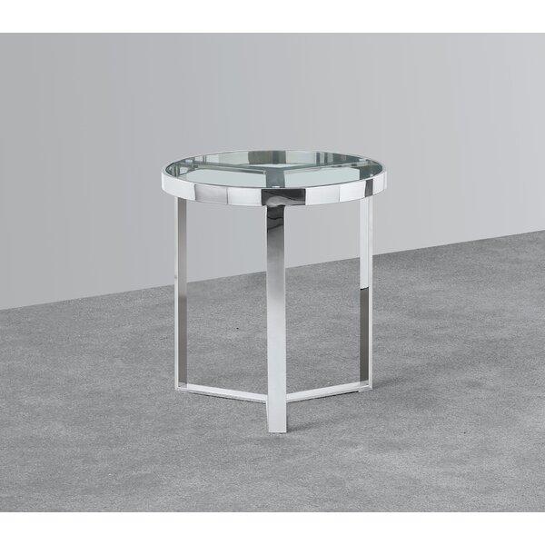Insani End Table By Orren Ellis