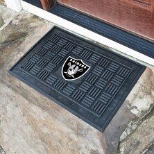 NFL - Oakland Raiders Medallion Doormat by FANMATS