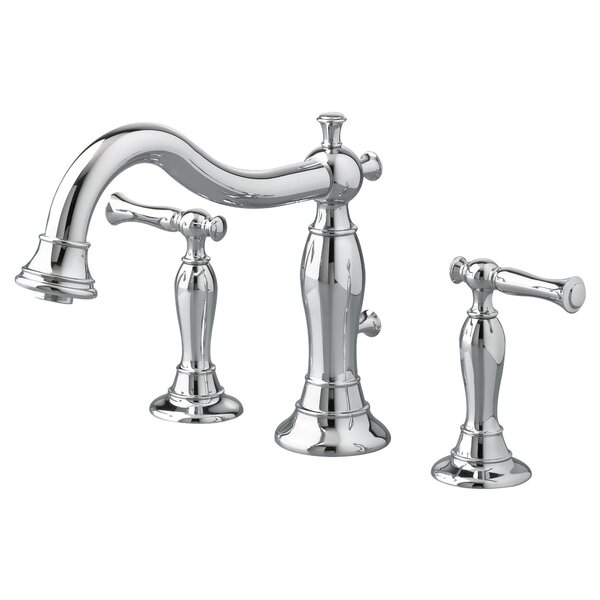 Quentin Double Handle Deck Mounted Roman Tub Faucet Trim by American Standard American Standard