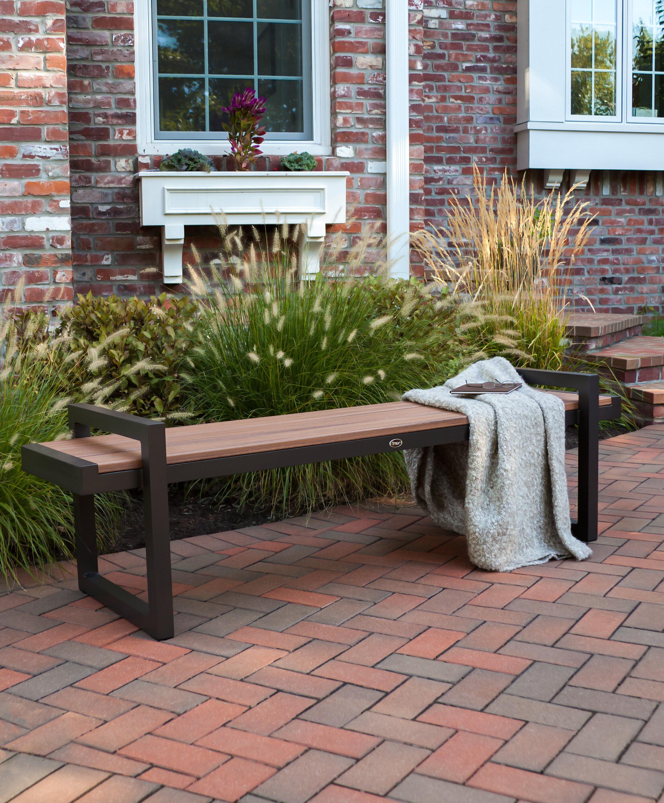 Genial Trex Century Plastic Garden Bench U0026 Reviews | Wayfair