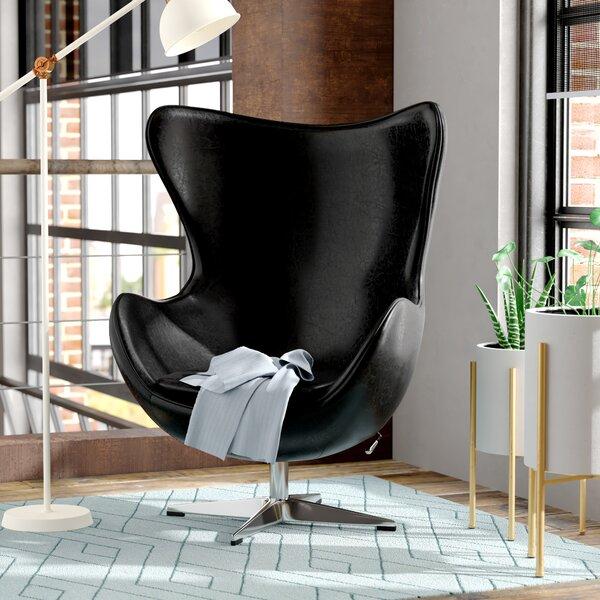 Trosclair Balloon Chair by Wade Logan Wade Logan
