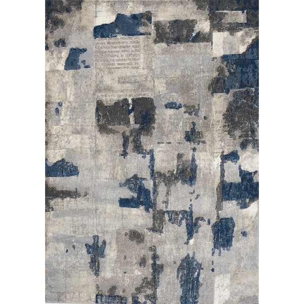 Cullerton Patches Gray/Blue Area Rug by 17 Stories