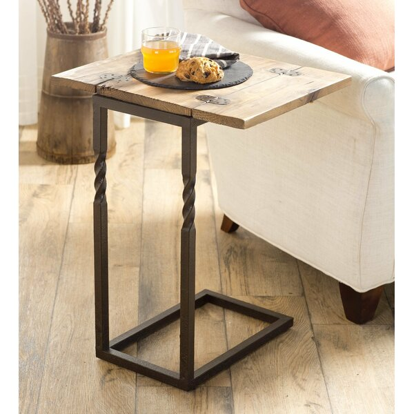 Pull Up End Table By Plow & Hearth