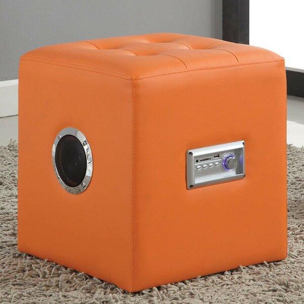 Gabrielino Sound Lounge Cube Ottoman by A&J Homes Studio