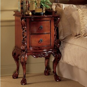 Chateau 2 Drawer Nightstand by Design Toscano